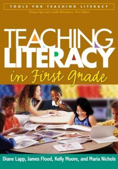 Teaching literacy in first grade cover image