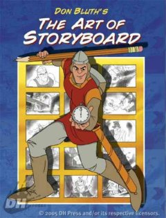 Don Bluth's The art of storyboard cover image