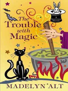 The trouble with magic cover image