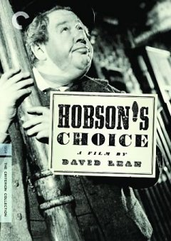 Hobson's choice cover image