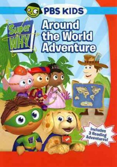 Super why! around the world adventure cover image