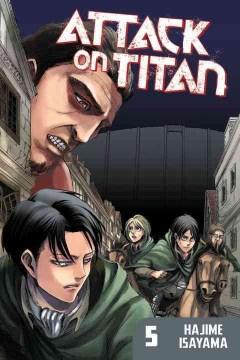 Attack on Titan. 5 cover image