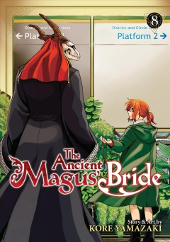 The ancient magus' bride. 8 cover image