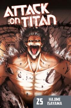 Attack on Titan. 25 cover image