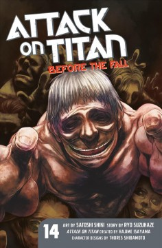Attack on Titan ; before the fall. 14. cover image