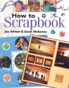 How to scrapbook cover image