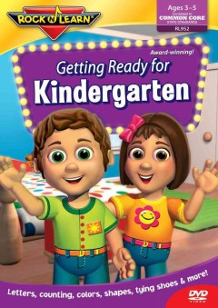 Getting ready for kindergarten cover image