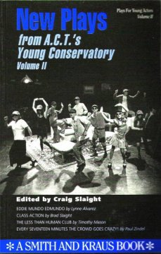 New plays from A.C.T.'s Young Conservatory. Volume II cover image