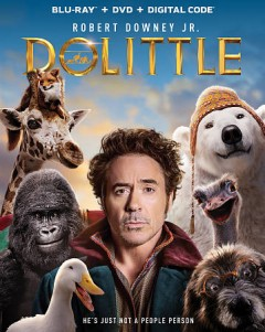 Dolittle [Blu-ray + DVD combo] cover image