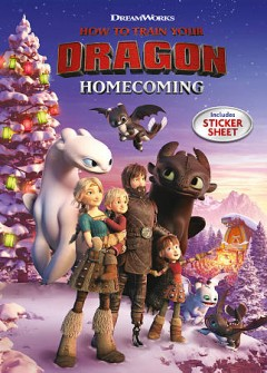 How to train your dragon. Homecoming cover image