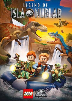 LEGO Jurassic world. Legend of Isla Nublar cover image