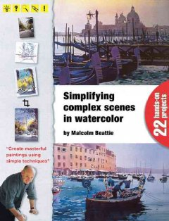 Simplifying complex scenes in watercolor cover image