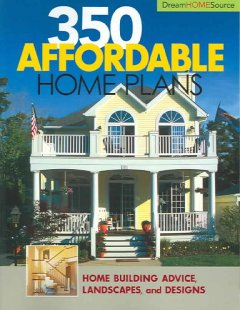 350 affordable home plans cover image