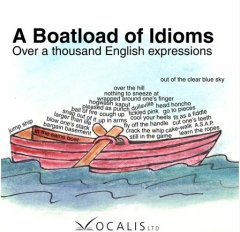 A boatload of idioms over a thousand English expressions cover image