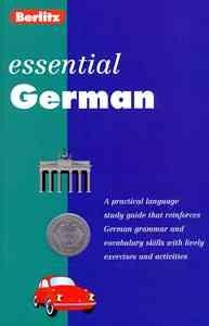 Berlitz essential German cover image