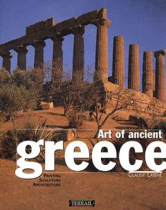 Art of ancient Greece : sculpture, painting, architecture cover image