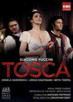 Tosca melodrama in three acts cover image