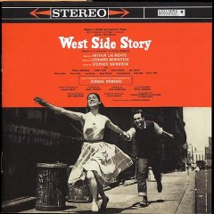 West Side story original Broadway cast recording cover image