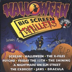 Halloween big screen thrillers cover image
