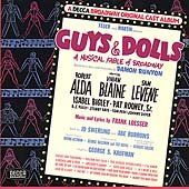 Guys & dolls original cast album cover image