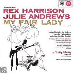 My fair lady original Broadway cast recording cover image
