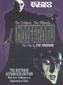 Nosferatu a symphony of horror cover image
