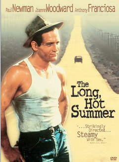 William Faulkner's the long, hot summer cover image