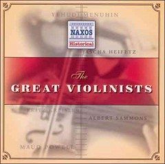 The great violinists cover image