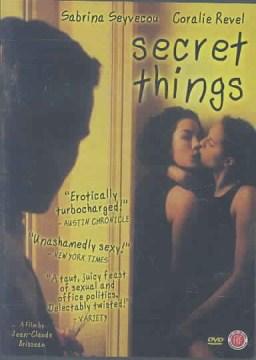 Secret things Choses secrètes cover image