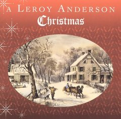 A Leroy Anderson Christmas cover image