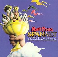 Monty Python's Spamalot original Broadway cast recording cover image