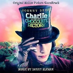 Charlie and the chocolate factory original motion picture soundtrack cover image