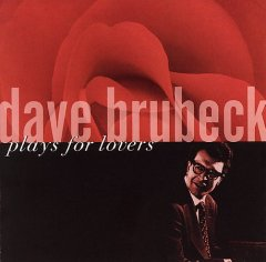 Dave Brubeck plays for lovers cover image