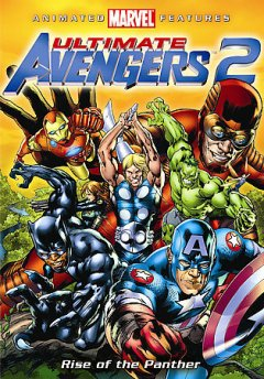 Ultimate avengers 2. Rise of the Panther cover image