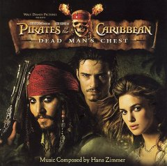 Pirates of the Caribbean dead man's chest cover image