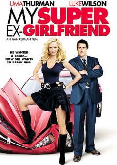 My super ex-girlfriend cover image