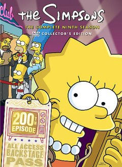The Simpsons. Season 9 cover image