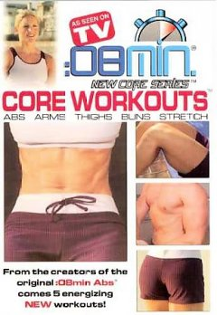 8 min. core workouts abs, arms, thighs, buns, stretch cover image