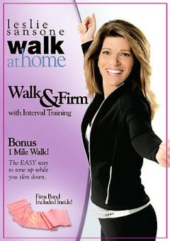 Leslie Sansone Walk at home. Walk & firm with interval training cover image