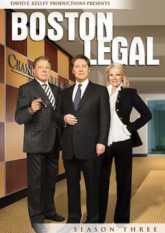 Boston legal. Season 3 cover image