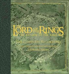 The Lord of the rings, the return of the king the complete recordings cover image