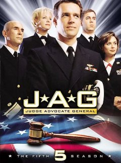 JAG, Judge Advocate General. Season 5 cover image