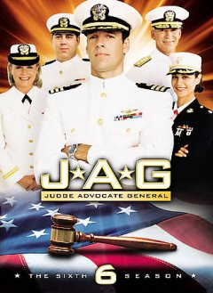 JAG, Judge Advocate General. Season 6 cover image