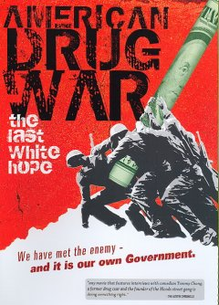 American drug war The last white hope cover image
