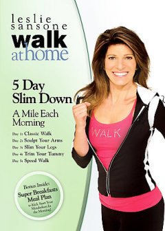 Walk at home with Leslie Sansone. 5 day slim down cover image