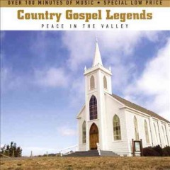 Country gospel legends peace in the valley cover image