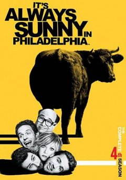 It's always sunny in Philadelphia. Season 4 cover image