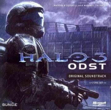 Halo 3 ODST original soundtrack cover image