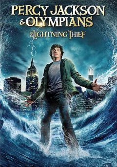 Percy Jackson & the Olympians the lightning thief cover image