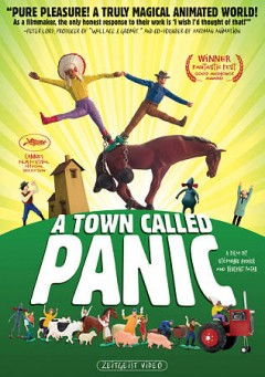 Panique au village Town called Panic cover image